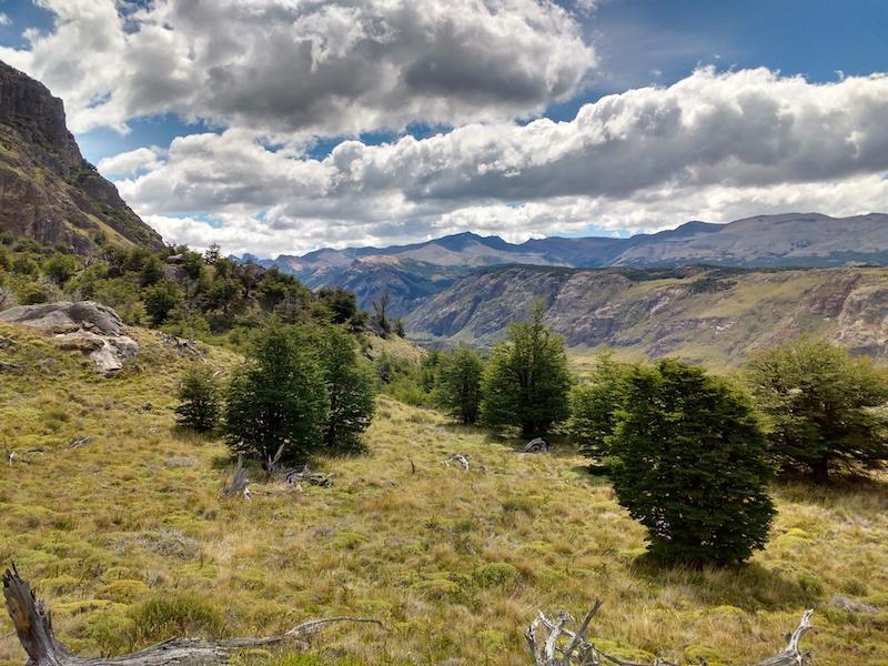 Rios de las Vueltas Valley in Argentinien