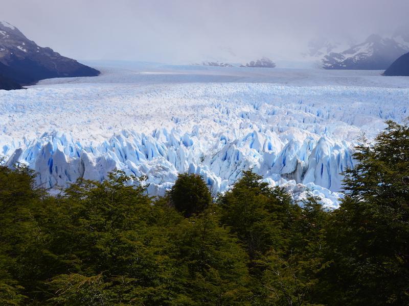 Eislandschaft in der Arktis in Argentinien