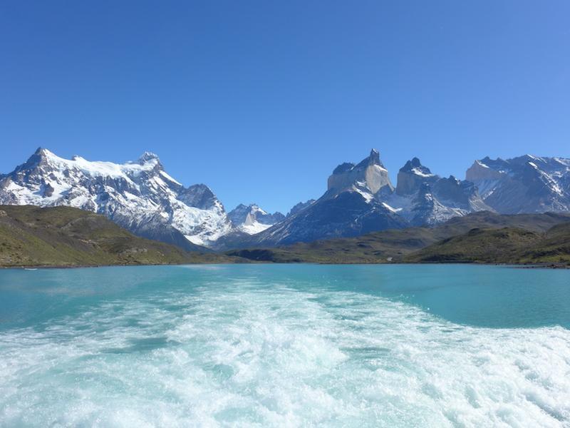 Schneebedeckte Berge in Chile