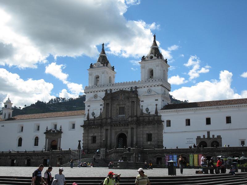 Gebäude in Quito