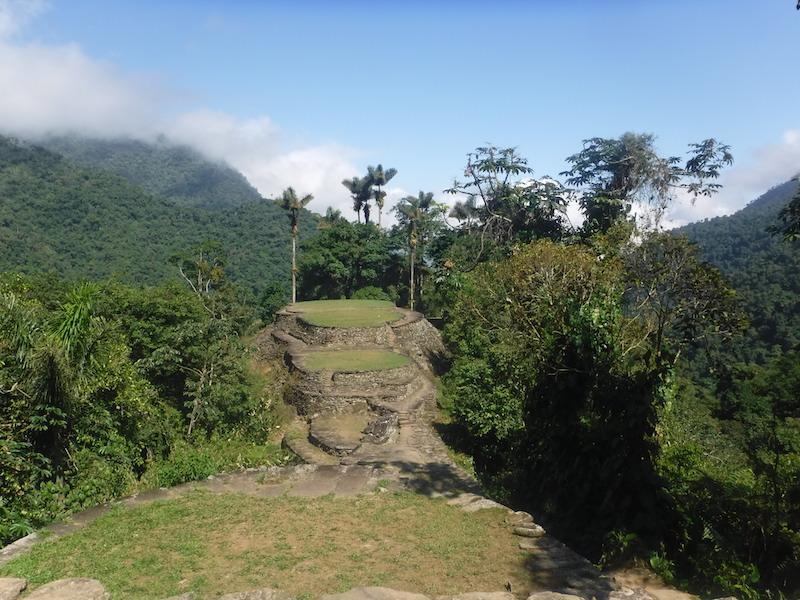 Ciudad Perdida in Kolumbien