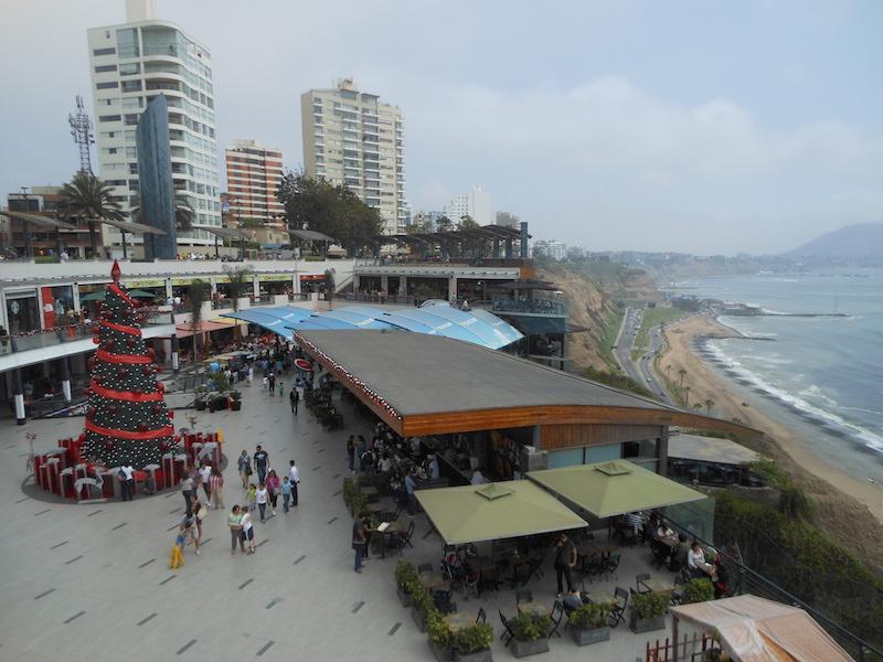 Öffentlicher Platz in Lima, Peru