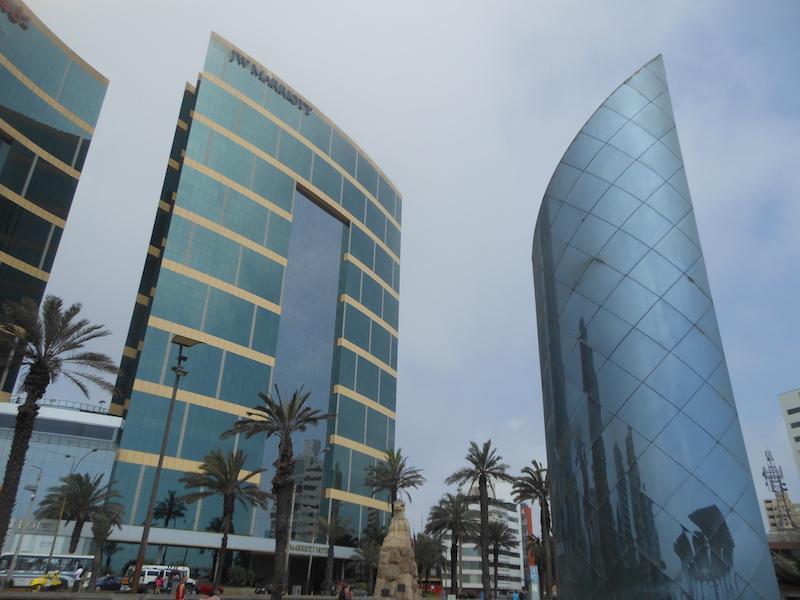 Hochhäuser in Lima, Peru
